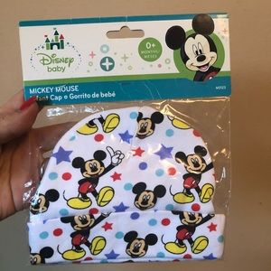 *SOLD* Mickey Mouse newborn hat